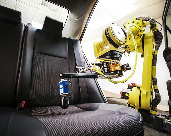 robostand in vehicle